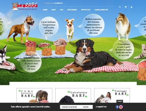 La Barf vendita cibo cani e gatti